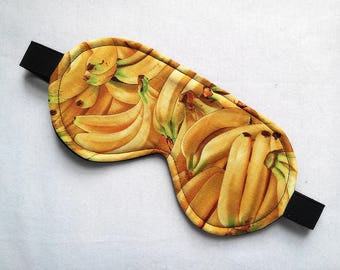 Sleeping Mask in Bananas