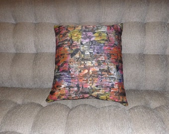 Shimmery Print 18 x 18 Pillow