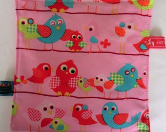 Crackle cloth blanket baby game cloth motor cloth colorful bird f & f