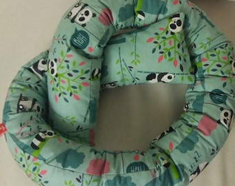 Storage aid bed snake green new nest bed sausage of Panda bears