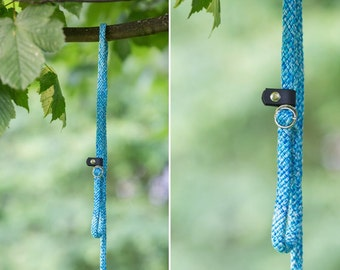 Slip Lead - Rope leash - Babyblue
