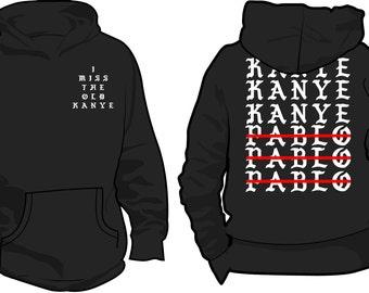 I Miss the Old Kanye  Hoodie (BLACK)