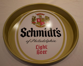 Schmidt's of Philadelphia Light Beer Tray - FREE SHIPPING!!