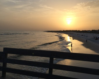 Sunset at Mexico beach