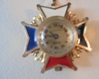 Vintage Swiss Made Sheffield Watch Necklace
