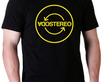 Soda Stereo  Tour 2007 T-Shirt (More colors inside) Ready to ship!