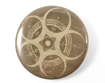 Crop Circle Pin