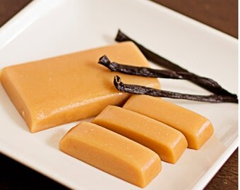 Homemade Vanilla Caramels - One Pound
