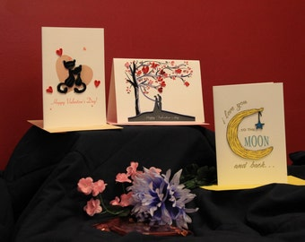 Valentine Special Quilled Cards