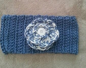 Headband Earwarmer Cowl Crocheted Women's