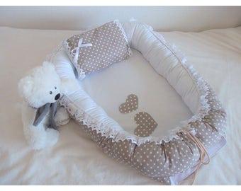 Babynest, Sleep nest, Baby nest, Removable mattress, Baby cocoon, Newborn baby nest, Baby nest bed
