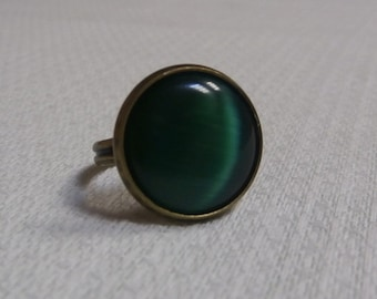 Ring with cat's eye