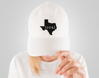 Texas Local State Pride Baseball Hat - Gift For The Texan