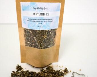 Breastfeeding Tea - Lactation Tea - galactagogue- herbal tisane