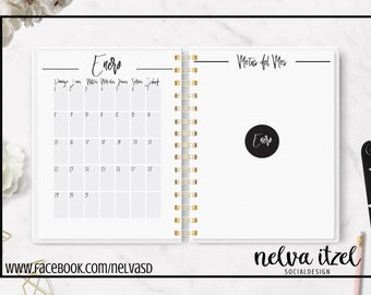 Agenda daily day by day 2017, Daily planner 2017