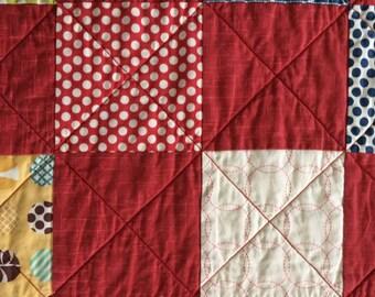 Homemade Quilt; Handmade Quilt; Baby Boy Quilt; Baby Quilt; Baby Blanket