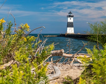 Presque Isle Lighthouse, Lake Erie, Pennsylvania, Lighthouse, Wall Art