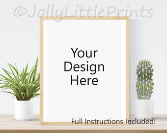 frame mockup digital background art print mockup digital frame styled photography mockup stock photo digital image empty frame styled stock
