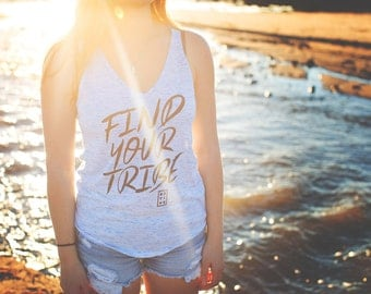 Find Your Tribe Womn's Tank Top