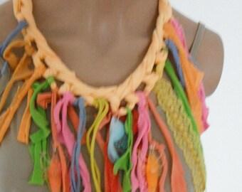 Fish lake necklace