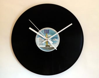 Hot Chocolate Vinyl Record Wall Clock