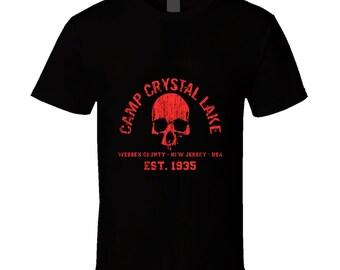 Friday The 13th Skull Tee T Shirt
