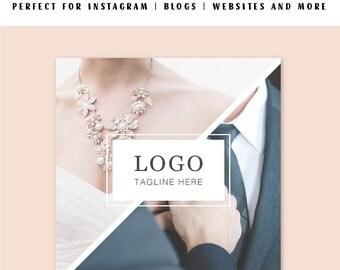 Social Media Templates, Instagram Template, Instagram Branding, Instagram Template, business templates, photoshop template, psd smart object
