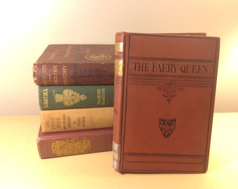 The Faery Queen by Edmund Spenser, Chandos Classics, 1879 printing
