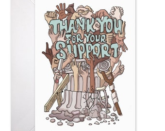 Thank You Card - Thank You for Your Support