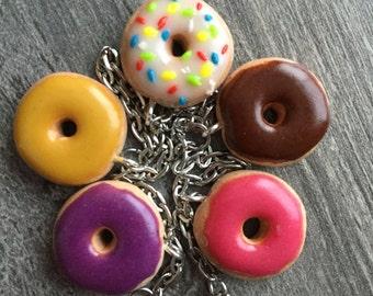 Donut fimo bracelet