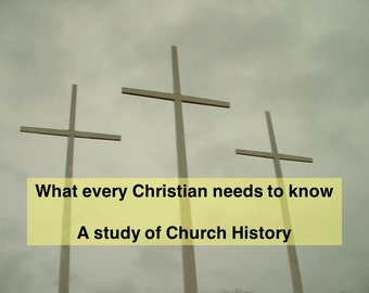 Church History Workbook | Christian History | Christian Book | History of Christianity | Christian Workbook