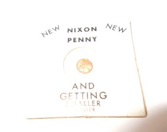 New Nixon Penny And Getting Smaller, Smaller, Smaller, Vintage