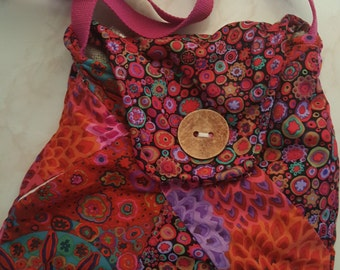 Patchwork style bag