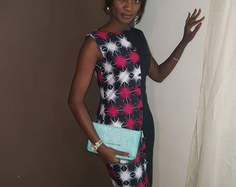 BETTY white and pink dress