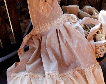 Apron, Apron for kitchen 2 (country, Provence, boho),apron handmade,linen apron, gift