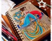 Mermaids ORIGINAL drawing