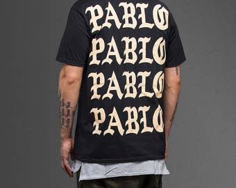 Pablo Pablo Pablo Pablo Unisex Adult Tshirt, Paris, Kanye West Merch, 100% Cotton , Best Gift