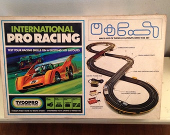 tyco pro international pro racing slot car