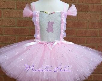 Peppa pig style tutu dress