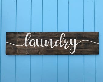 Laundry Sign - Laundry Room Decor - Laundry Room Sign - Laundry Room Art - Home Decor - Valentine's Day Gift - Wedding Gift