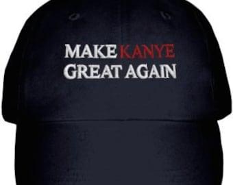 Make Kanye Great Again Unisex Dad Caps