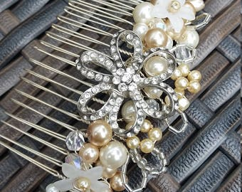 Beautiful Vintage Design Hair Comb Wedding Prom Party