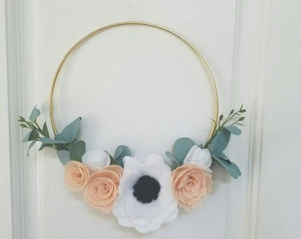 Lovely Floral hoop