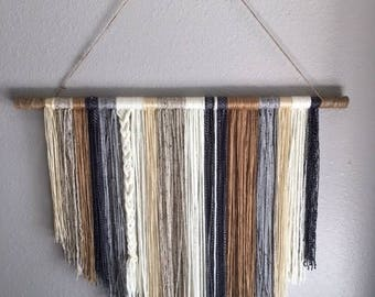 Wall Hangings Etsy yarn wall hanging | etsy