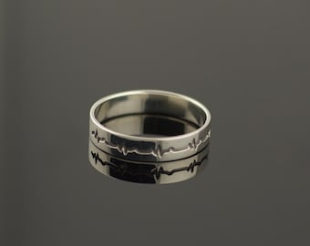 Sterling Silver Ring Handcrafted Jewelry, Weight 1,45g.