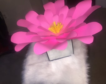 Paper Flowers/ backdrop flowers