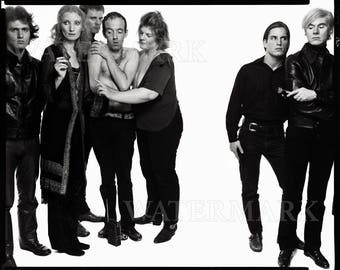 Andy Warhol and Members of The Factory 1969 - Andy Warhol Poster - Andy Warhol Print - Warhol - 8x10 - 11x14 - 16x20 - (TD0019)
