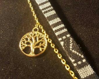 Ethnic bracelet and tree of life