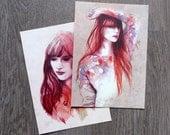 Cartes postales Feminity II
