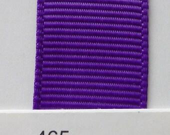 """3/8"""" / 10mm Solid Grosgrain Ribbon PURPLE #465 X 2 METERS"""